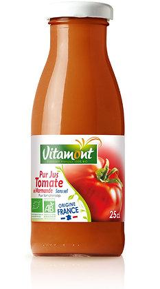 MINI PUR JUS DE TOMATE sans sel - France 25 cl