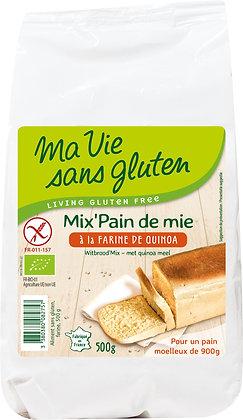 MIX'PAIN DE MIE farine de quinoa 500 gr