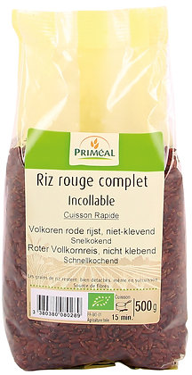 riz rouge complet incollable, 500 gr