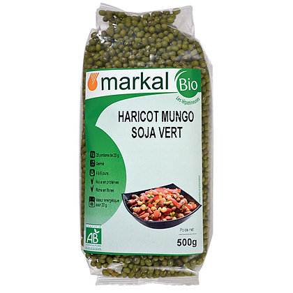 HARICOT MUNGO SOJA VERT, 500 g