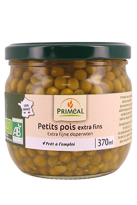 petits pois extra fins France, 370 gr