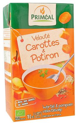 velouté potiron et carottes, 1 l