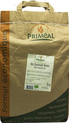 riz basmati blanc, 5 kg