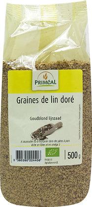 graine de lin doré, 500 gr