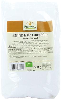 farine de riz complet France, 500 gr