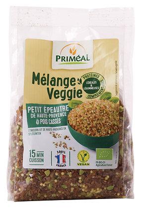 mélange Veggie Boulgour, Petit épeautre & Pois cassés, 300 gr