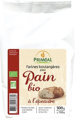 pain bio à l'épeautre, 500 gr