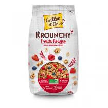 KROUNCHY FRUITS ROUGES, 500 g