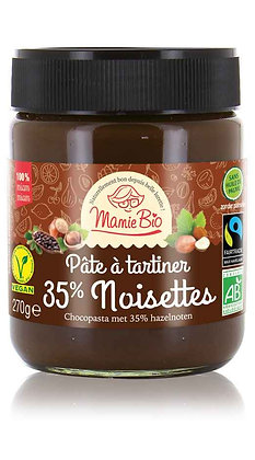 PÂTE A TARTINER 35% NOISETTE vegan 270 gr