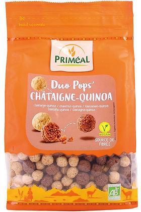 duo pops' châtaigne-quinoa, 200 gr