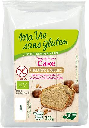 PRÉPARATION POUR CAKE châtaigne et souchet 300 gr