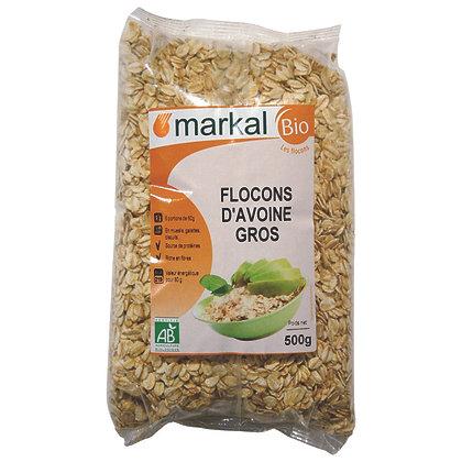 FLOCONS D'AVOINE GROS, 500 g