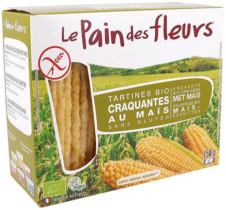 TARTINES CRAQUANTES MAÏS sans gluten 150 gr