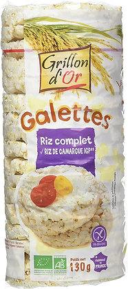 GALETTES DE RIZ COMPLET AU RIZ DE CAMARGUE, 130 g
