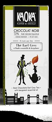 CHOCOLAT NOIR 72% THE EARL GREY GAMME GOURMET 1