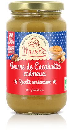 BEURRE DE CACAHUÈTE CRÉMEUX 350 gr