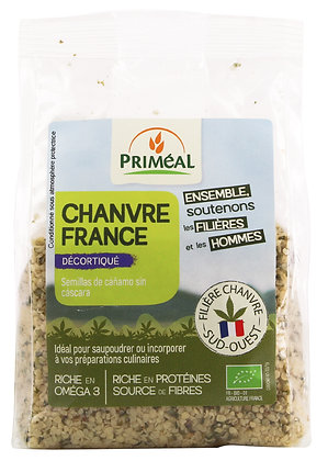 graine de chanvre décortiquées 100% France, 200 gr