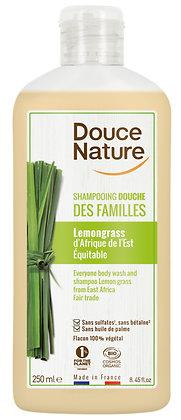 SHAMPOING DOUCHE DES FAMILLES lemongrass, 250 ml