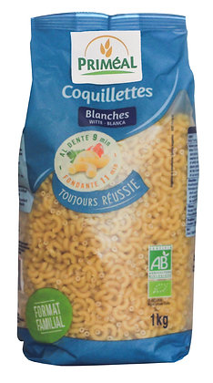 coquillettes blanches, 1 kg