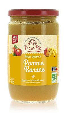 COMPOTE POMME - BANANE 680 gr