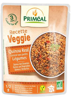 quinoa Real cuisiné aux petits légumes, 220 gr