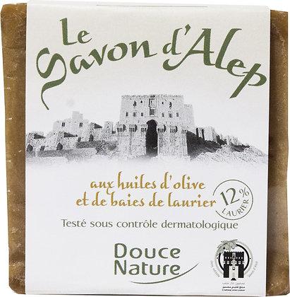 SAVONNETTE D'ALEP 12%, 100 gr