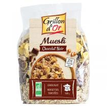 MÜESLI CHOCOLAT NOIR, 500 g