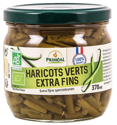 haricots verts extra fins France, 370 gr