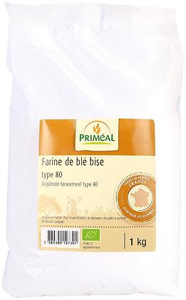 farine de blé France T80, 1 kg