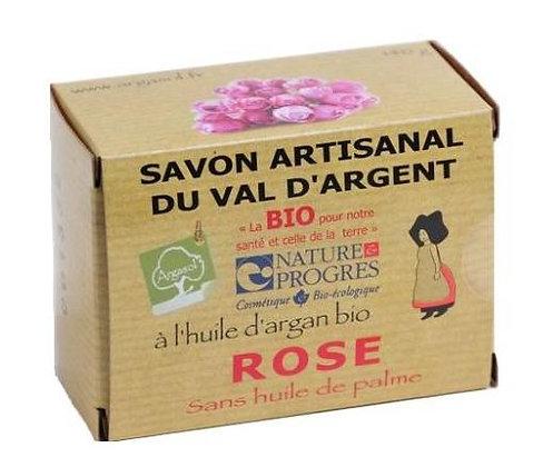 SAVON A LA ROSE, 140 gr