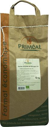 farine de blé France T110, 5 kg