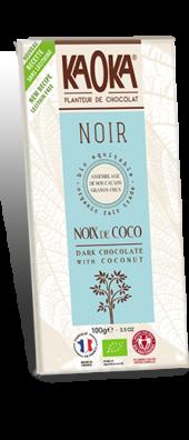 CHOCOLAT NOIR 58% COCO GAMME DÉGUSTATION 100 gr