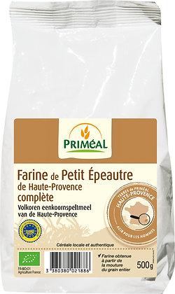 farine de petit épeautre de Haute Provence complète, 500 gr