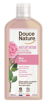 GEL DOUCEUR TOILETTE INTIME rose du Maroc, 500 ml