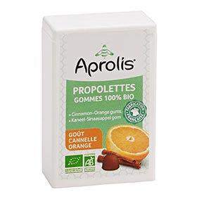 PROPOLETTES GOMME CANNELLE ORANGE, 50 gr