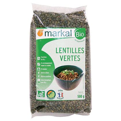 LENTILLES VERTES, 500 g