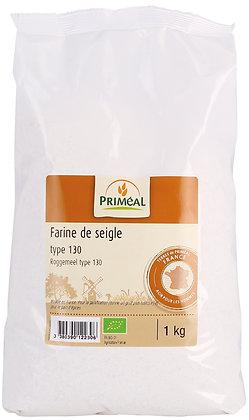 farine de seigle France T130, 1 kg