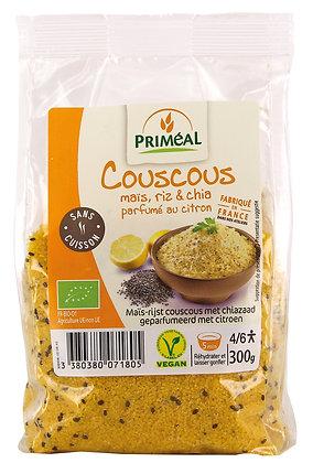 couscous maïs riz et chia parfumé au citron, 300 gr