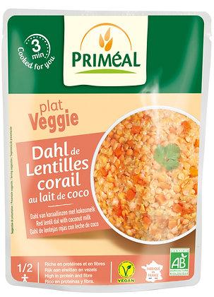 dahl de lentilles corail au lait de coco, 250 gr