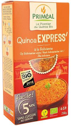 QUINOA EXPRESS' à la Bolivienne