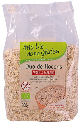 DUO DE FLOCONS avoine & sarrasin 400 gr