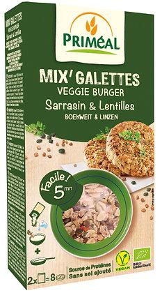 mix' galettes Sarrasin & Lentilles, 250 gr
