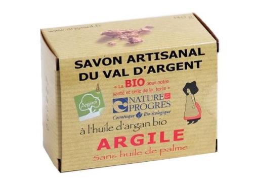 SAVON A L'ARGILE (rhassoul), 140 gr
