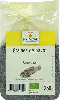 graine de pavot, 250 gr