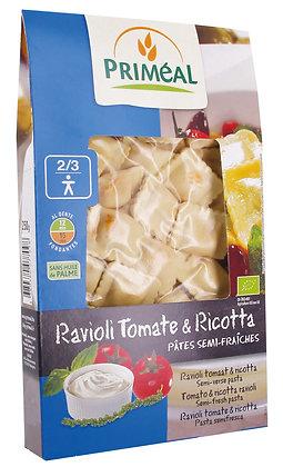 ravioli tomate – ricotta, 250 gr