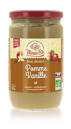 COMPOTE POMME - VANILLE 680 gr