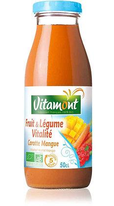 FRUIT & LÉGUME VITALITÉ CAROTTE - MANGUE 50 cl