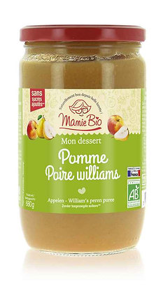 COMPOTE POMME - POIRE William's 680 gr