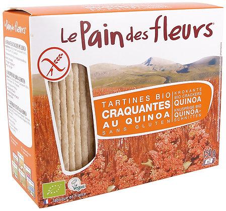 TARTINES CRAQUANTES QUINOA sans gluten 150 gr