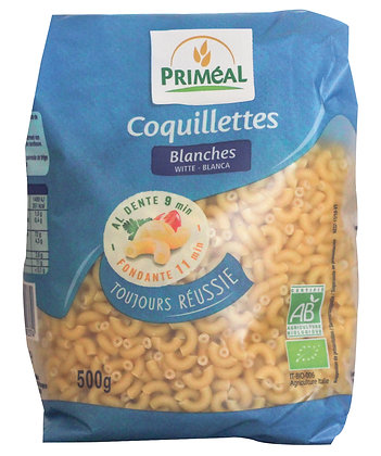 coquillettes blanches, 500 gr